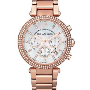 Michael Kors Parker Rose Gold Watch
